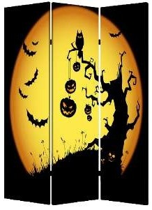 Halloween Screen contemporary-screens-and-room-dividers
