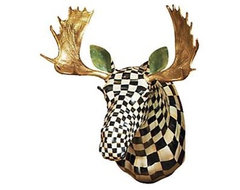 Courtly Check Moose Head eclectic-artwork