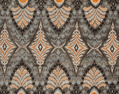 Charcoal Ikat Rug contemporary-rugs