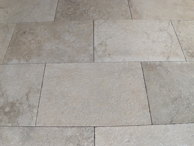 Castile Grey limestone eclectic-wall-and-floor-tile