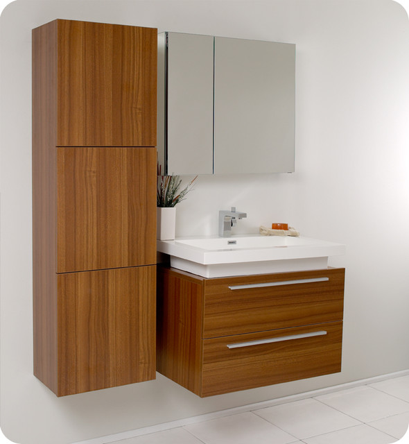 Floating Vanity Unit : Floating Bathroom Vanities - Contemporary - Bathroom Vanities And Sink ...