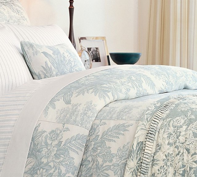 Porcelain Blue Duvet Cover - Sweetgalas : pale blue quilt cover - Adamdwight.com