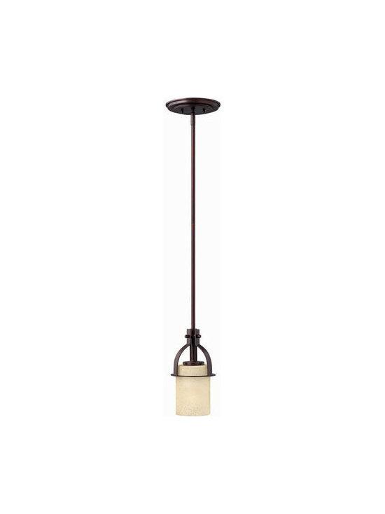 Hinkley Lighting 4727MC Mini-Pendant Stowe Collection -