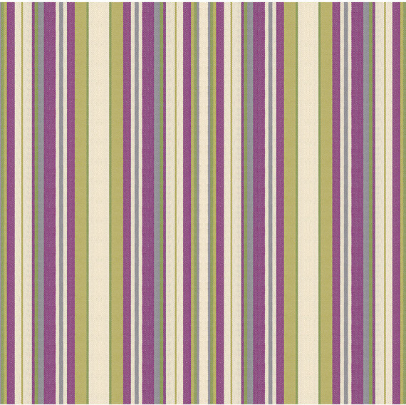 Purple & Green Stripe Woven Fabric contemporary-upholstery-fabric