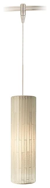 Peyton White Glass Satin Nickel Tech Lighting MonoRail Pendant contemporary-track-heads-and-pendants