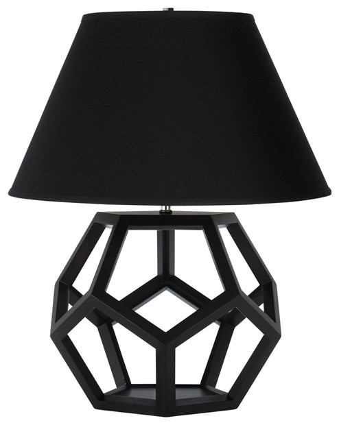 Dustin Dodecahedron Table Lamp modern table lamps