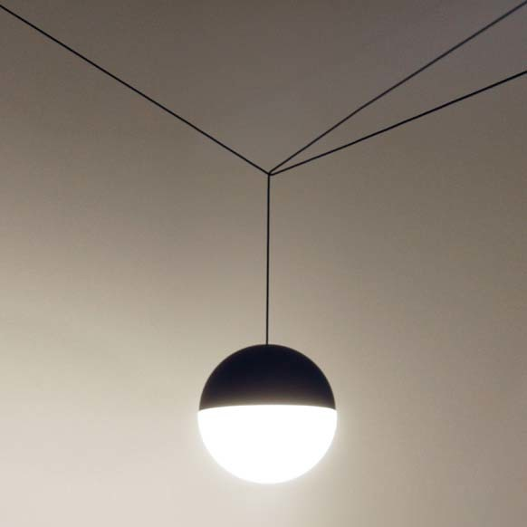 flos string lights pendant lamp flos lighting contemporary pendant lighting san. Black Bedroom Furniture Sets. Home Design Ideas