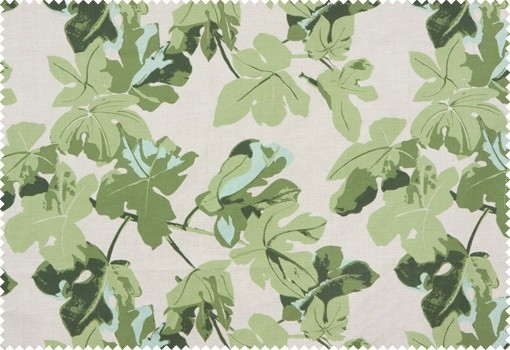 Fig Leaf Peter Dunham Textiles tropical upholstery fabric