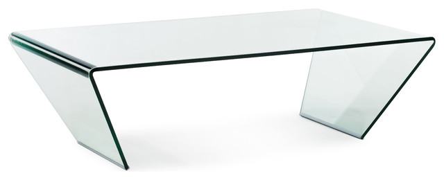 Migration Coffee Table Clear Glass contemporary-coffee-tables
