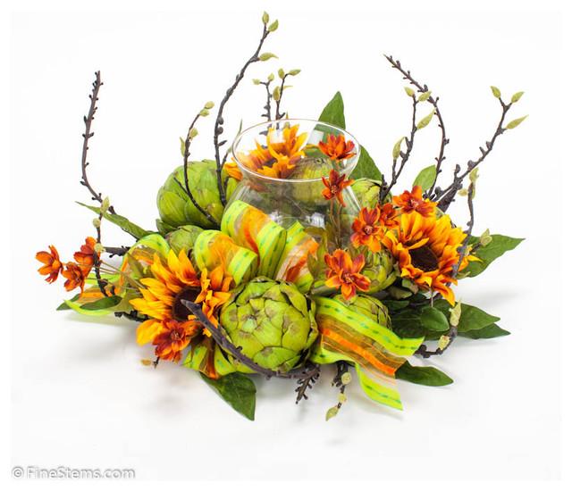 Artichoke Wreath traditional-wreaths-and-garlands