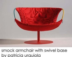 Smock Swivel Armchair By Patricia Urquiola For Moroso Of Italy contemporary armchairs