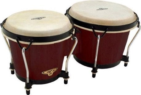 Dark Wood Bongos eclectic
