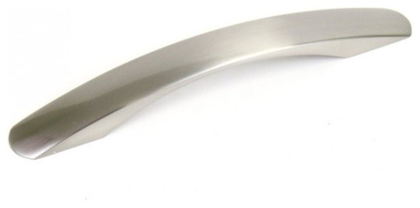 Contemporary Flat Arch Design 7.75-inch Stainless Steel Bar Pull Handles (Case o - Contemporary ...