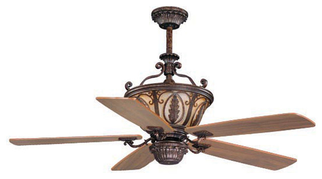 """Vaxcel FN56312FP Dynasty 56"""" Ceiling Fan Forum Patina transitional-ceiling-fans"""