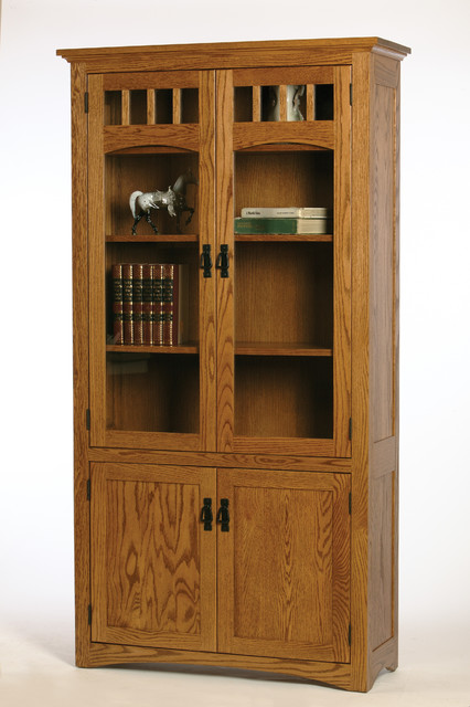 Amish Craft Examples craftsman-bookcases