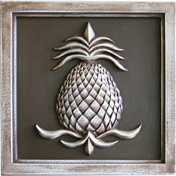 Pineapple Plaques traditional-garden-statues-and-yard-art