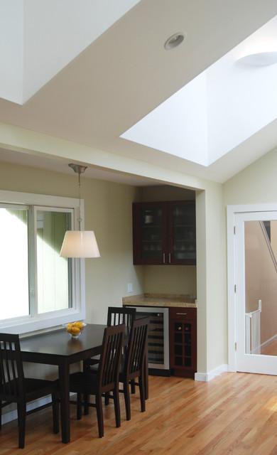 Mill Valley master suite & kitchen contemporary-kitchen