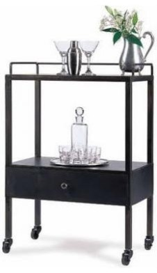 Grant Bar Cart eclectic bar carts