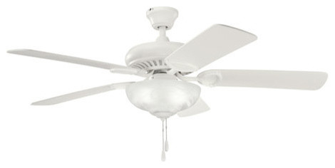 Kichler 339211SNW Satin Natural White Sutter Place Select Sutter Place contemporary-ceiling-fans