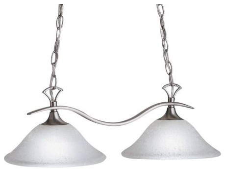 Kichler Dover Island Light - 25W in. Brushed Nickel contemporary-ceiling-lighting