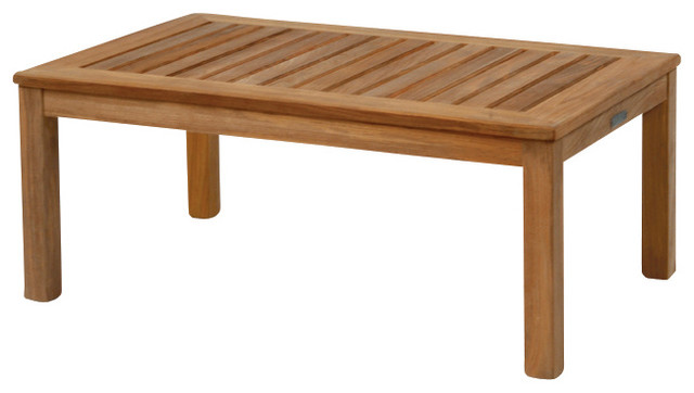 Classic Rectangular Coffee Table - By Kingsley Bate traditional-outdoor-coffee-tables