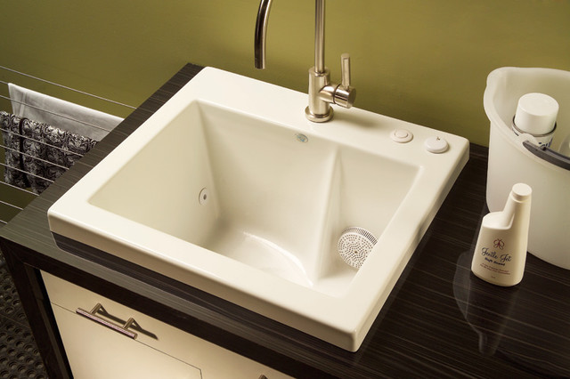 Laundry Basin Sink : Jentle Jet Laundry Sink - Modern - Utility Sinks