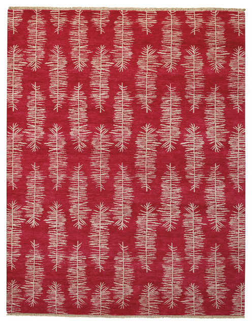 Aspen rug in Spice Red rugs