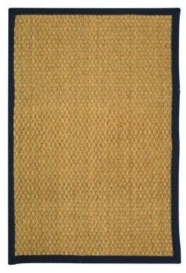 Safavieh Natural Fiber NF114E-210 Area Rug - Natural / Blue modern-rugs