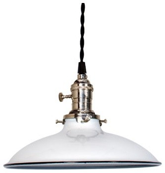 Ivanhoe Sinclair Porcelain Pendant eclectic pendant lighting
