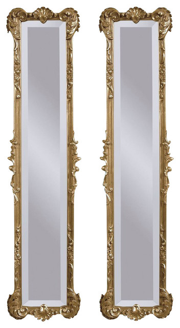 Decorative Wall Mirror Panels : Bassett mirror old world helena panel decorative mirrors
