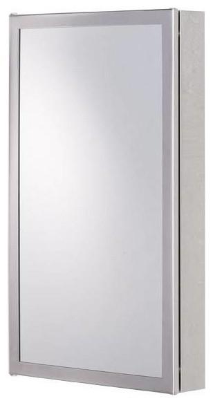 Radial stainless steel corner cabinet modern bathroom for Bathroom cabinets victoria plumb
