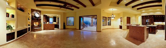 Custom Home in Scottsdale traditional-family-room
