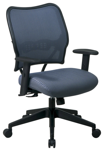 Deluxe Blue Back Executive Mesh Office Chair modern-office-chairs