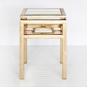 Maynard Gold Leaf Side Table side-tables-and-end-tables