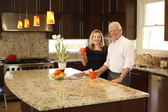 Artisan Stone Collection Modern granite island contemporary-kitchen-countertops