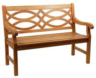 Hennell Garden Bench modern-patio-furniture-and-outdoor-furniture