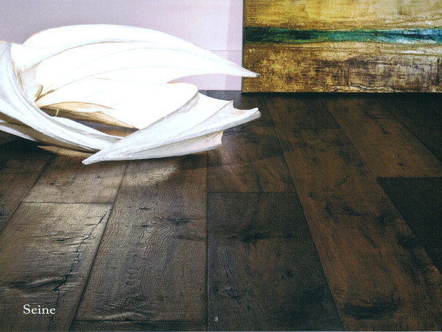 DUCHATEAU FLOORS SEINE OAK, RIVERSTONE COLLECTION, RSCSEI7 traditional wood flooring