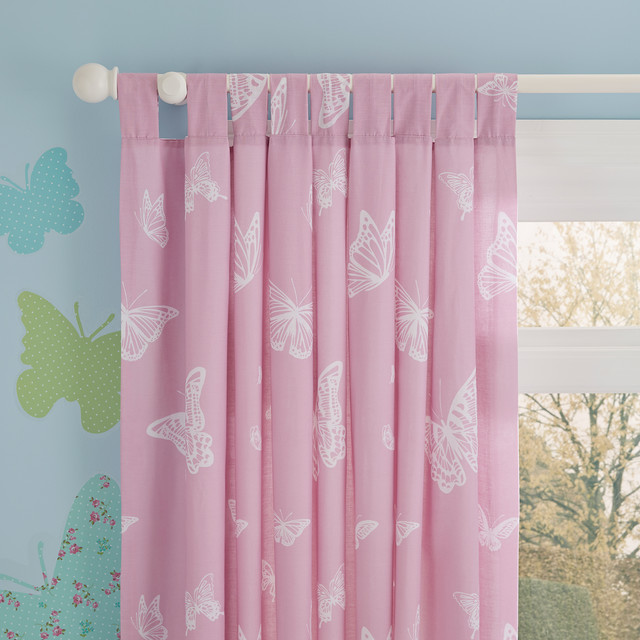 butterfly themed kids curtains contemporary kids decor