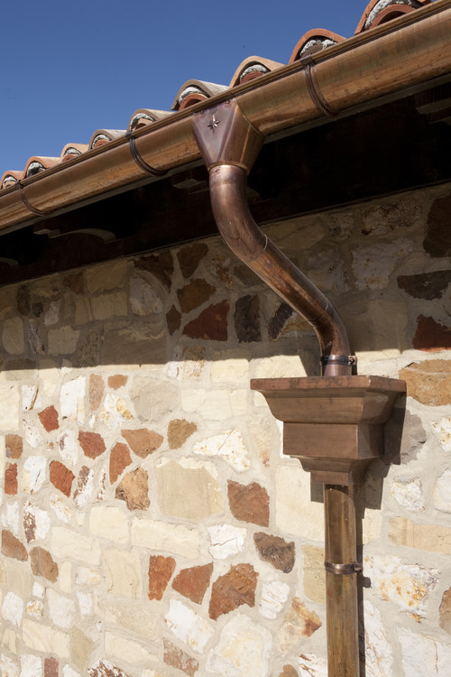 Where Can We Buy The Copper Scuppers Downspouts And