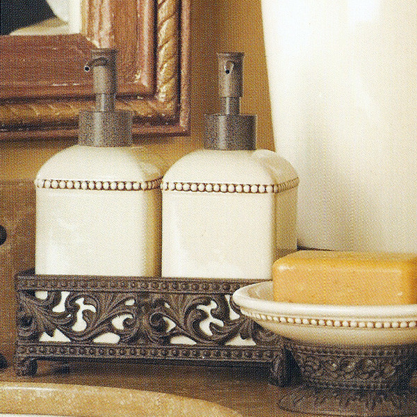 The GG Collection Bathroom Set (2 Piece) - mediterranean - bath