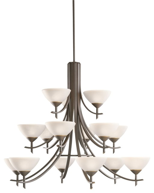 Kichler Lighting Olympia Transitional Chandelier X-WZO1861 contemporary-chandeliers