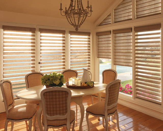 Pirouettes transitional-dining-room