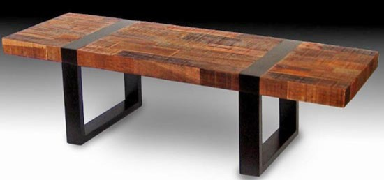 Urban Rustic Coffee Table - Coffee Tables - grand rapids - by Woodland Creek Furniture
