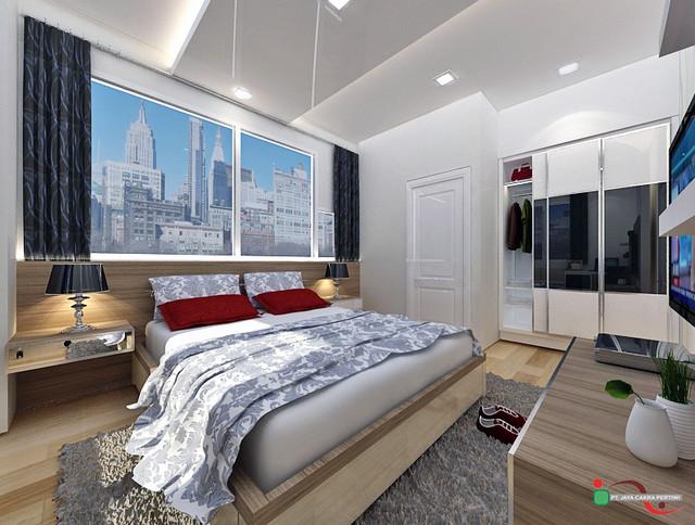 1park unit B ( 2 BR ) contemporary-rendering