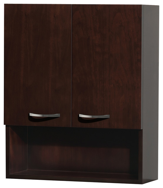 "Wyndham Collection 24"" Maria Espresso Bathroom Wall ..."