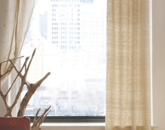 organic curtain panel - ABC Carpet & Home contemporary-curtains