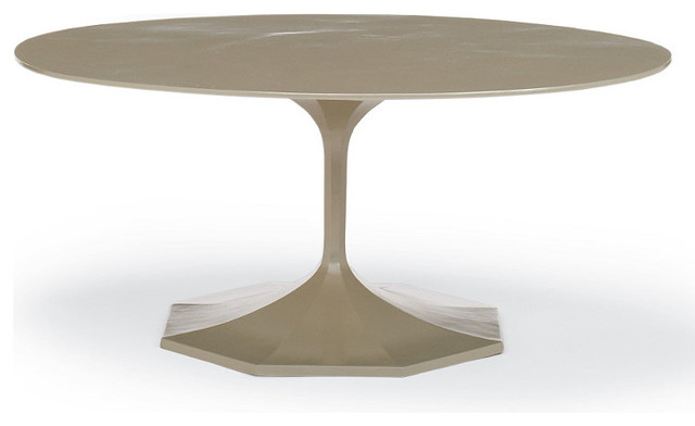 Milano Oval Outdoor Coffee Table traditional-outdoor-dining-tables