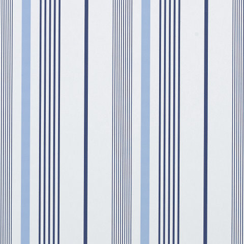 Gable stripe wallpaper french blue contemporary for Striped kitchen wallpaper