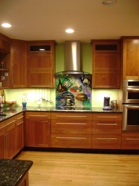 Fun Colorful Kitchens