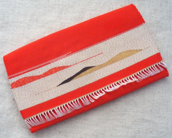Vintage Handwoven Tsuzure Ori Delicate Textile by Shop Glamma's Attic -